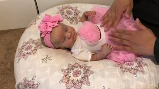 Banggood.com Product Review - Pink Lace Dress for Reborn Baby Girl
