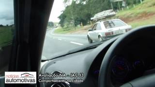 JAC J3 - Comportamento na estrada - NoticiasAutomotivas.com.br