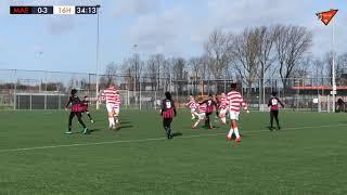 FC Maense JO13-1 - Zestienhoven JO13-1