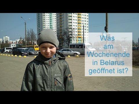 Was am Wochenende in Belarus geöffnet ist?
