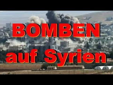 Bomben auf Syrien