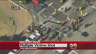 Multiple Victims Reported Shot In San Bernardino; As Many As 3 Shooters Sought