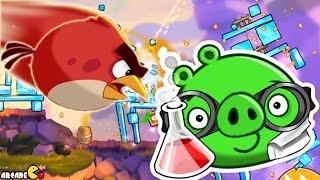 Angry Birds 2 - Cobalt Plateaus Fluttering Heights 321 - 325 3 Star Walkthrough