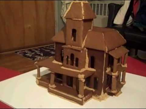 Haunted Mansion Gingerbread House - YouTube