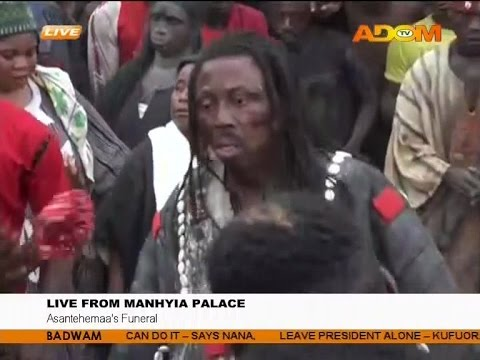 Live From Manhyia Palace - Badwam on Adom TV (16-1-17)