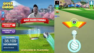 Golf Clash tips, Playthrough, Hole 1-9 - ROOKIE - TOURNAMENT WIND! Easter Open Tournament!