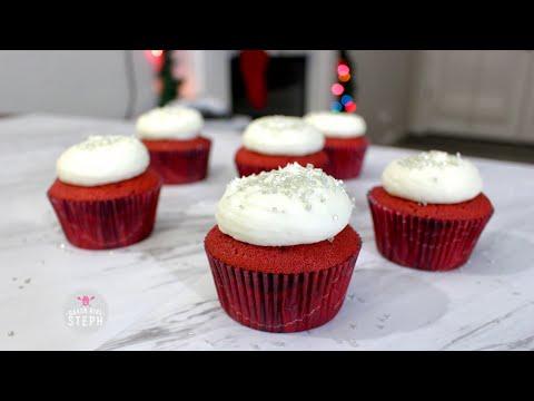 easy-red-velvet-cupcakes-||-holiday-recipe