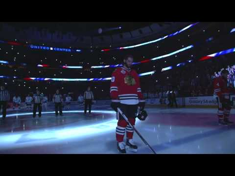 The last Star-Spangled Banner of the season in Chicago