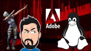 😮 Adobe e Epic Games no Linux? - DIOLINUX FRIDAY SHOW