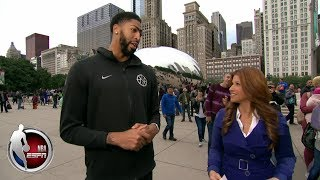 Anthony Davis tells Rachel Nichols why he's the best player in the NBA | The Jump