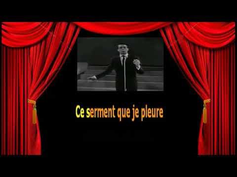 Karaoké Jacques Brel   Les Prénoms De Paris   Les Prénoms De Paris