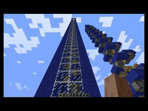 Скоростной лифт Minecraft 1.1