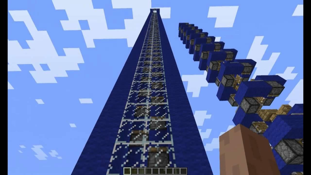 Скачать видео как сделать лифт в майнкрафте 81