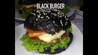#33 - Cara Membuat Burger Hitam (Black Burger)