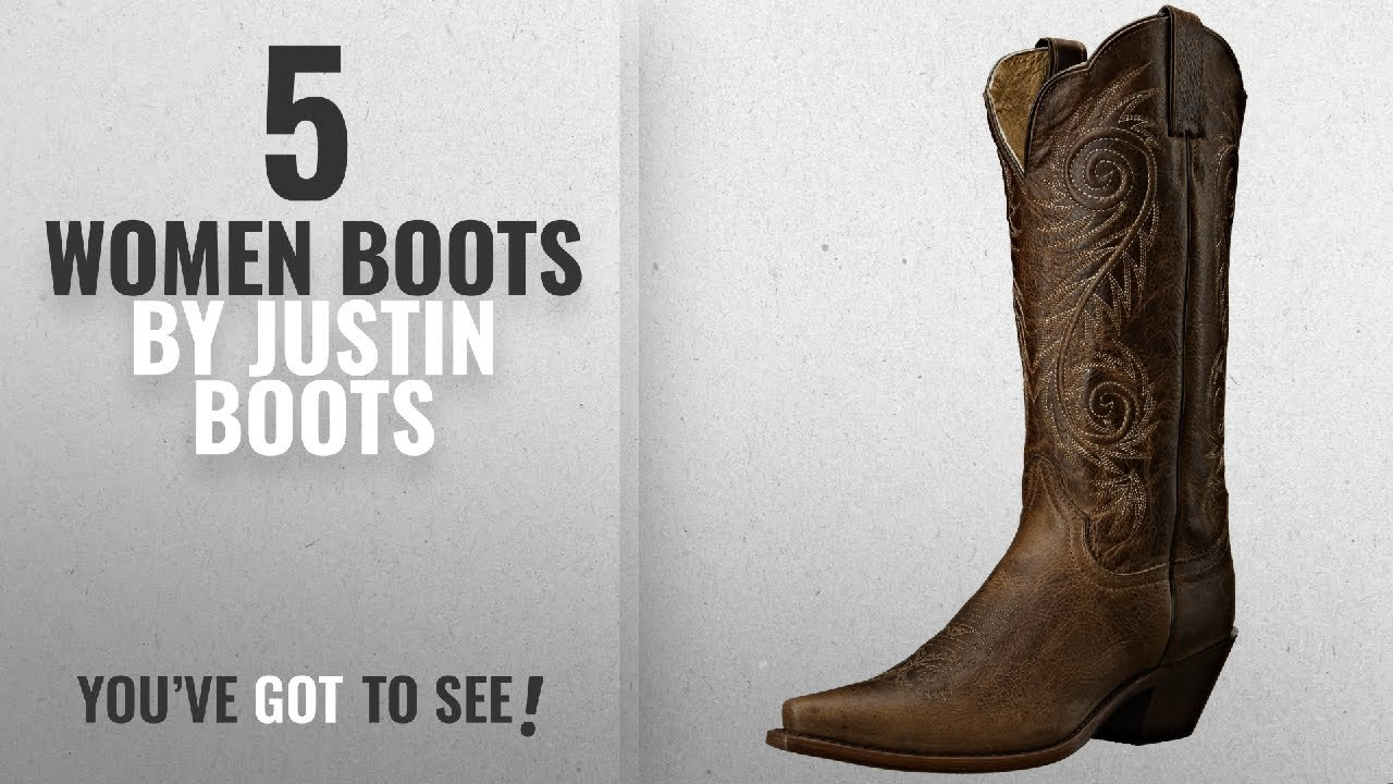c2216e63094 Top 10 Justin Boots Women Boots [2018]: Justin Boots Women's Classic  Western Boot Narrow Square