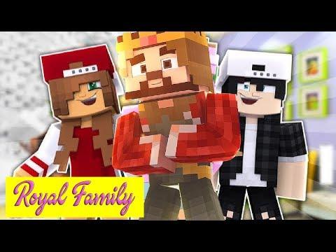 KING TOM IS FALLING IN LOVE WITH RAVENS MOM | Minecraft ROYAL FAMILY LOVE STORY |