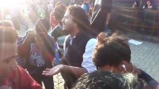 Arijit At Indian Idol Audition In Mumbai