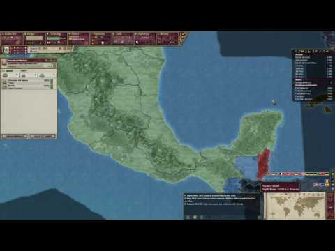 Victoria 2 Mexico Part 2-Hawaii Joins The Growing Mexico Empire