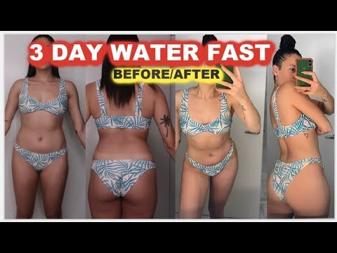 weight loss three day water fast