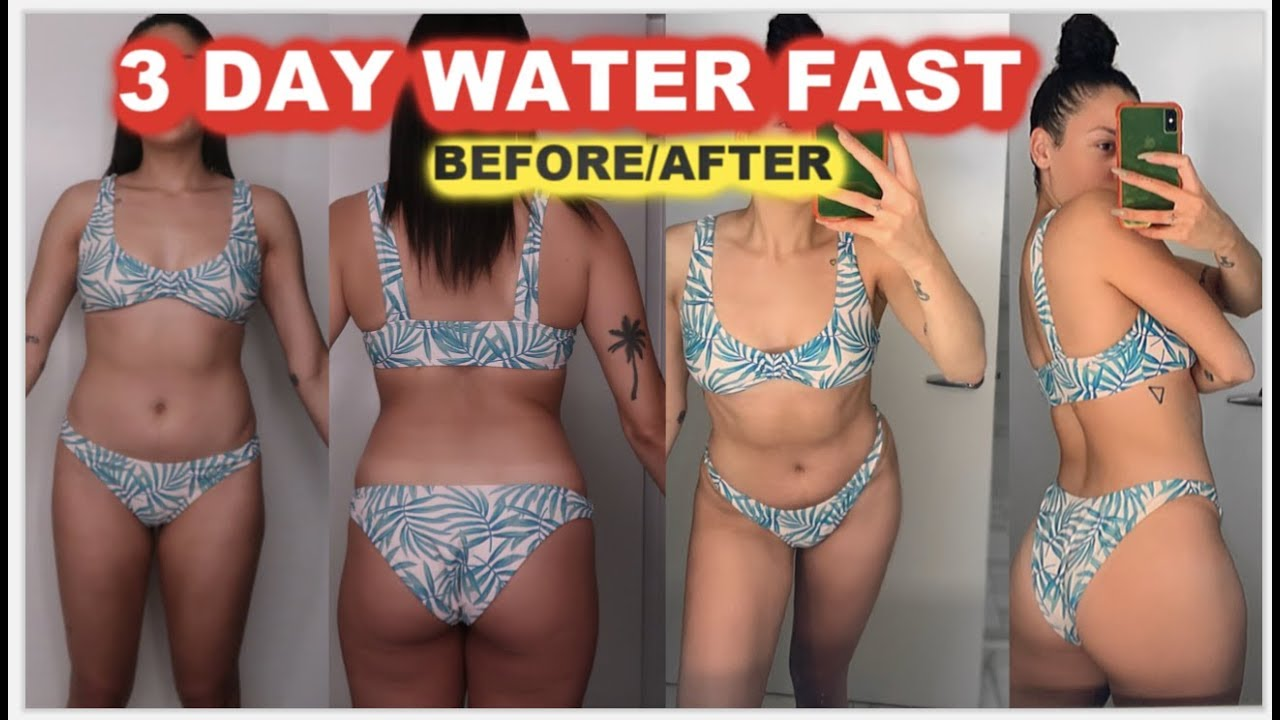 I DRANK ONLY WATER FOR 3 DAYS | WATER FASTING