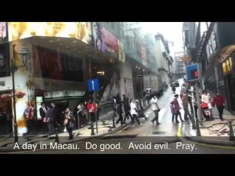 Trip to Macau, Bus Ride in Macao