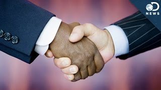 The Weird Thing Everyone Does After A Handshake