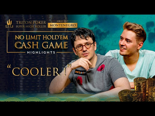 $660,000 Cash Game Cooler | Triton Montenegro 2019 NLH Cash Game