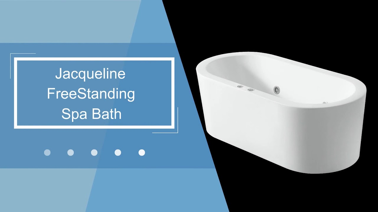 Freestanding Spa baths, Jacqueline and Jacinda Freestanding Spa ...