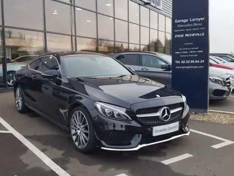 Mercedes Classe C Coupe 250 D Sportline 9g Tronic Youtube
