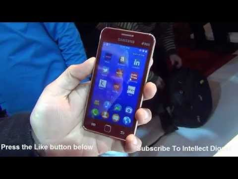 Samsung Z1 Tizen Phone Hands On Review, Camera Sample & Features