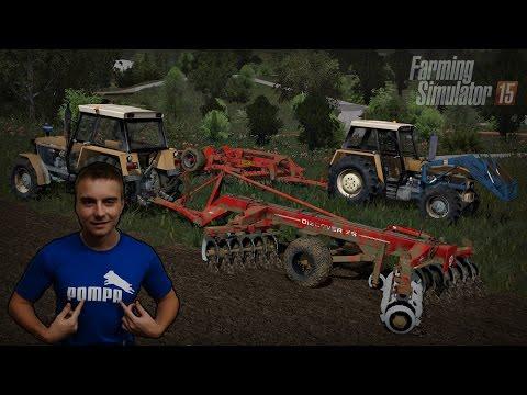 Gospodarstwo Rolne #9 ☆ Farming Simulator 15 MP - Slovakia Map ☆ Talerzowanie jak w GR Mokrzyn