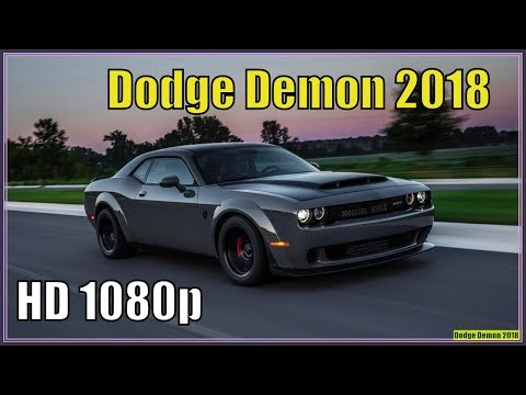 Dodge Demon 2018 | New 2018 Dodge Challenger SRT Demon Specs And Review
