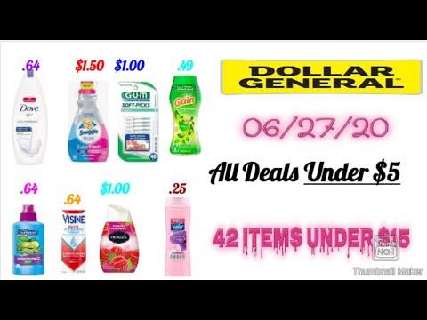 Dollar General Couponing Deals 06/27/20