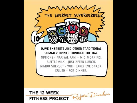 The fitness project 2018 - Week 10 - Summer drinks for different time of the day