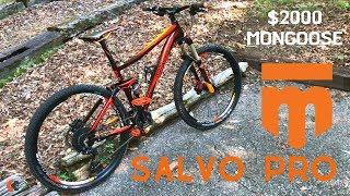 mongoose Salvo Pro Full Suspension Mountain Bike  A 2000 Mongoose