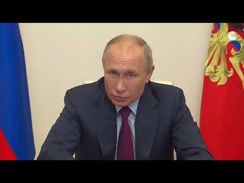Путин о ситуации с COVID 19 в России
