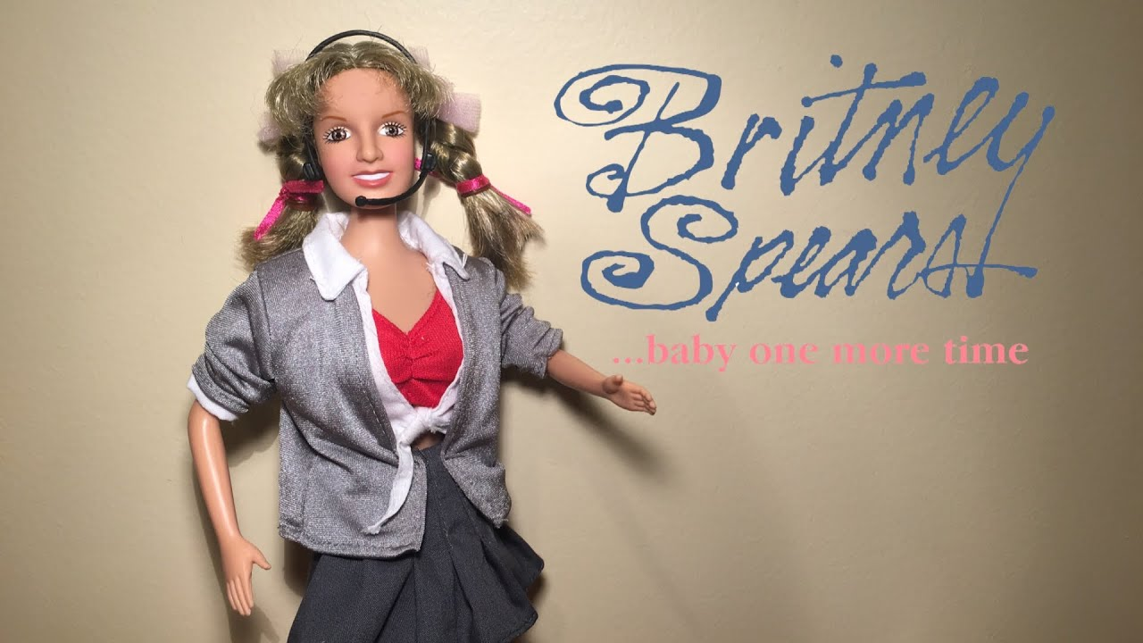 Britney Spears Baby One More Time Singing Doll Youtube