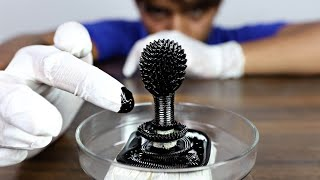 The Most Satisfying Science Experiment - Ferrofluid In Hindi