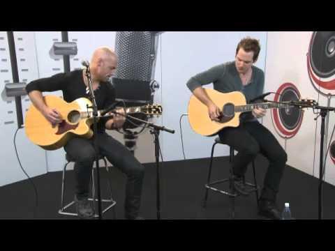 Daughtry acoustic live on Radio Nova (Finland) 14.09.2012