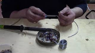 Наращивание алюминиевых проводов в подрозетниках.
