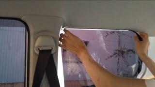 かんたん!車のカーフィルムの貼り方(前編)ウインドウフィルム