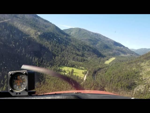 Johnson Creek backcountry Idaho approach July 4th 2016