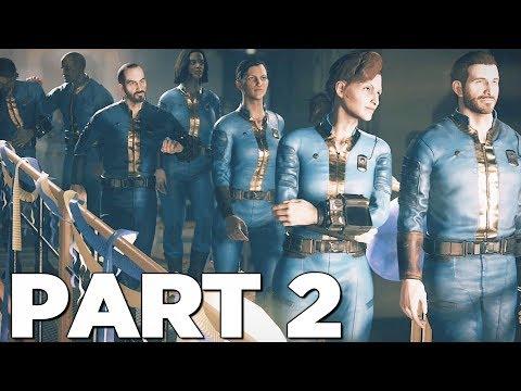 FALLOUT 76 Walkthrough Gameplay Part 2 - COLLISION COURSE (PS4 PRO) thumbnail