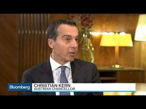 Austria's Kern Says Brexit Will Be Costly for U.K.