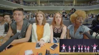 Video #KDT Reaction - Beautiful Strangers - Cupid - Oh My Girl (OMG) download MP3, 3GP, MP4, WEBM, AVI, FLV Juni 2018