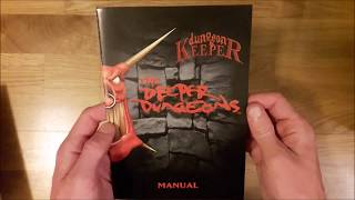 Dungeon Keeper: The Deeper Dungeons Unboxing (PC Big Box)