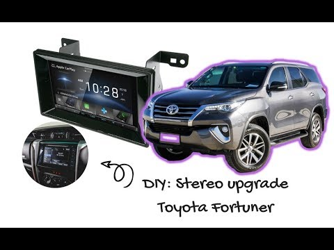 DIY: How To Install A Stereo in a Toyota Fortuner | Apple CarPlay & Android Auto for Toyota Fortuner