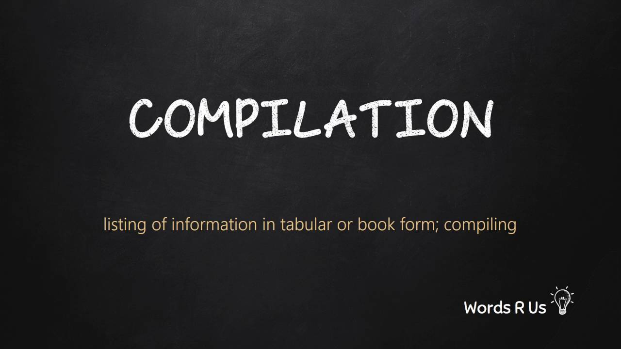 How to Pronounce COMPILATION in American English