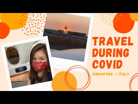 Travel tips for flying during covid - Singapore to Milan