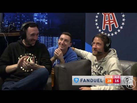 Live Reactions to Clemson vs. Alabama National Championship